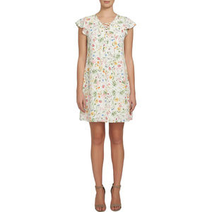 Cece Garden Party Floral Dress